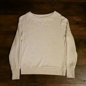 Athleta | Striped Oatmeal Sweater